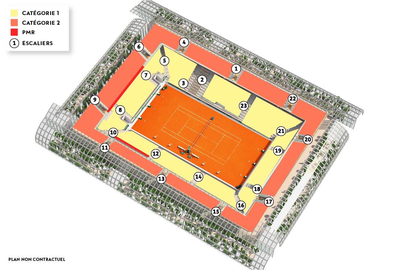 Roland Garros Location In Paris Map.Roland Garros 2019 Ticketing Location Map Tickets Resale