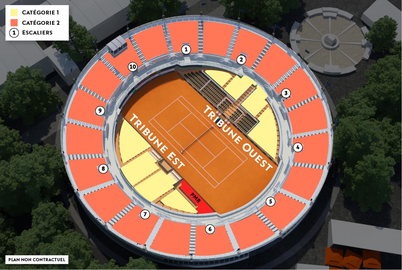 Cat  Roland Garros Court
